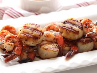 Shrimp and Sea Scallop Kabobs