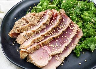 Sesame Soy Grilled Tuna