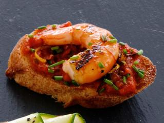Shrimp Creole Bruschetta