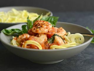 """Italian Shrimp """"Pasta"""""""