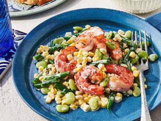 Shrimp-and-Corn Succotash