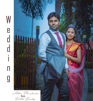 Allan Manikandan Vinitha Wedding Album