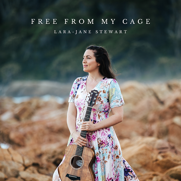 Free From My Cage by Lara-Jane Stewart album cover