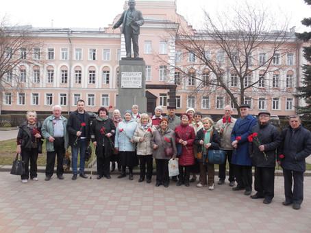 День рождения В.И. Ленина отметили в Невском районе