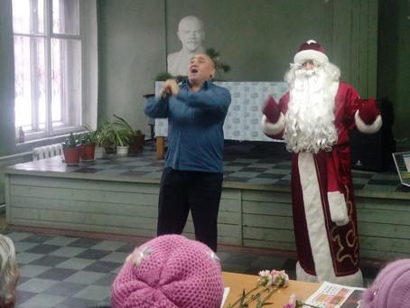 В канун Нового года в Невском районе состоялся праздничный концерт