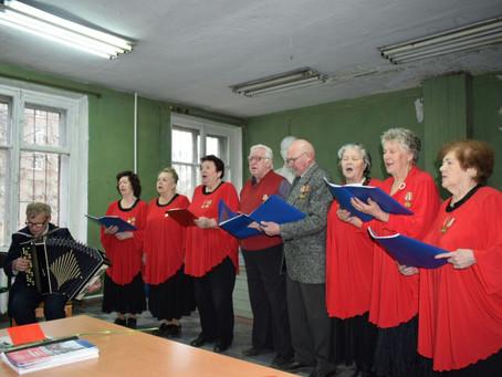 Концерт в честь 100-летия октября прошел в Невском районе.