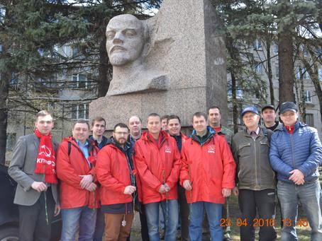 Коммунисты Невского района приняли участие в коммунистическом субботнике.