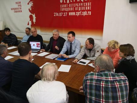 Подготовка к выборам идёт в Невском районе