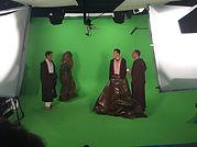 plateau tournage vert