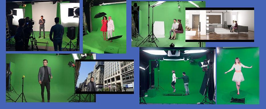 studio video tournage incrustation