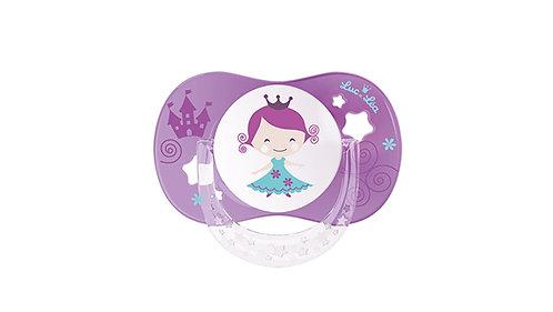 法國Luc et Léa拇指型趣緻奶嘴系列(適合18個月或以上) 深紫小女孩 635171