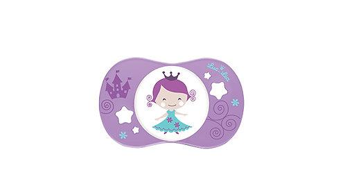 法國Luc et Léa趣緻奶嘴系列(適合18個月或以上) 粉紫小女孩 LEL18A635089_PRINCESS
