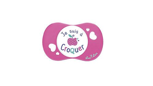 法國Luc et Léa趣緻奶嘴系列(適合18個月或以上) 粉紅小蘋果 LEL18A635047_PINKAPPLE
