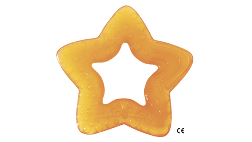法國Luc et Léa嬰兒磨牙膠系列(適合4個月以上) 星星造型磨牙膠
