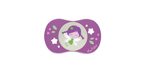 法國Luc et Léa趣緻奶嘴系列(適合18個月或以上) 深紫小女孩 LEL18A635092_PURPLEGIRL