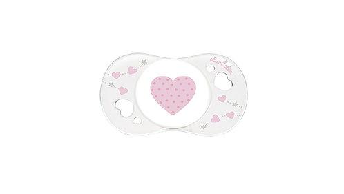 初生寶寶安撫奶嘴系列 (適合0-2個月) 粉紅愛心 LEL0_2_635085_HEART
