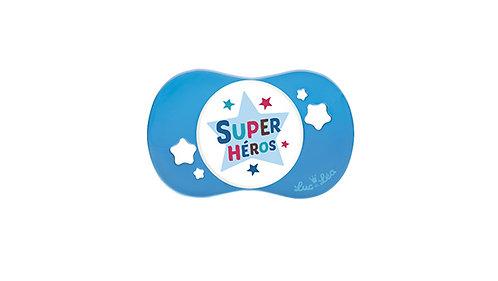 法國Luc et Léa趣緻奶嘴系列(適合18個月或以上) 超級英雄 LEL18A635048_HEROS
