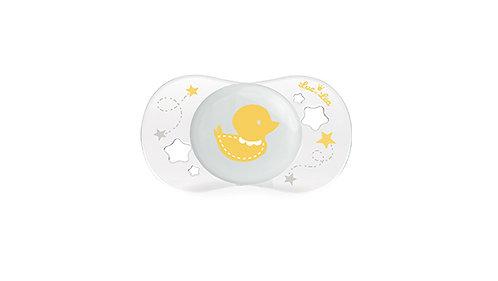 初生寶寶安撫奶嘴系列 (適合0-2個月) 黃小鴨 LEL0_2_635087_YELLOWDUCK