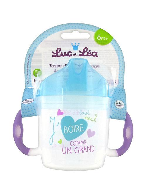 法國Luc et Léa嬰兒日用配件系列-學習瓶連手柄(適合6個月以上) 635071