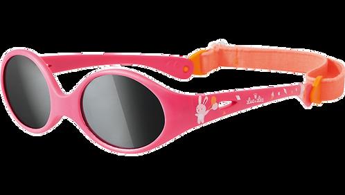 嬰兒防曬粉紅色太陽眼鏡(適合1-3歲)