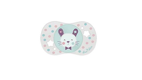 法國Luc et Léa可愛奶嘴系列(適合6個月以上) 小白兔 LEL6A635030-Rabbit