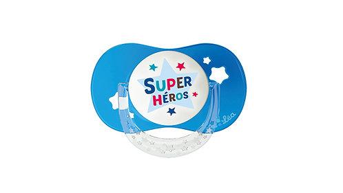 法國Luc et Léa拇指型趣緻奶嘴系列(適合18個月或以上) 超級英雄 LEL18AT635172_HEROS
