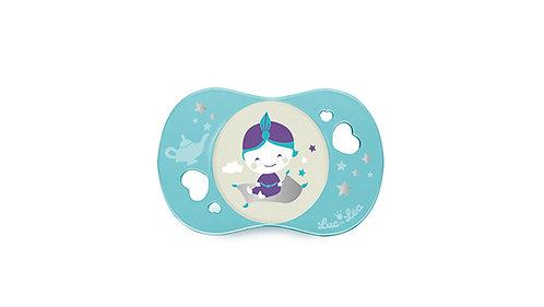 法國Luc et Léa趣緻奶嘴系列(適合18個月或以上) 淺藍小男孩 LEL18A635081_BLUEBOY