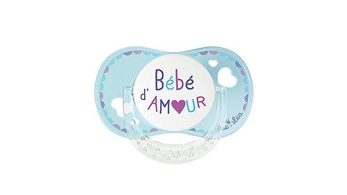 法國Luc et Léa拇指型愛心奶嘴系列(適合0個月以上) 愛心BB LEL0AT635160_BEBEDAMOUR