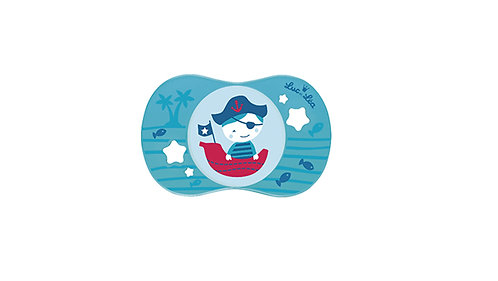 法國Luc et Léa卡通奶嘴系列(適合6個月以上) 小海盜 LEL6A635034_PIRATE