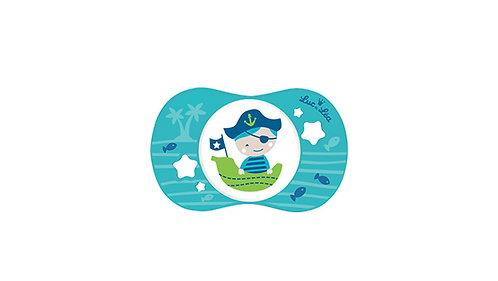 法國Luc et Léa趣緻奶嘴系列(適合18個月或以上) 小海盜 LEL18A635088_PIRATE
