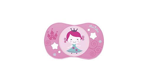 法國Luc et Léa卡通奶嘴系列(適合6個月以上) 粉紅色小女孩 LEL6A635035-Princess