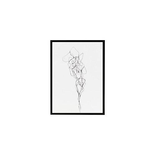Illustration im Rahmen, Pen 2