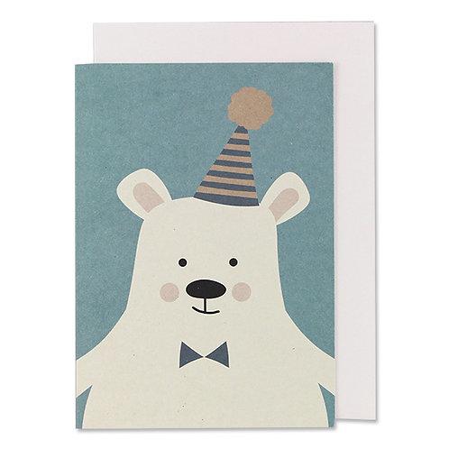 Klappkarte Eisbär
