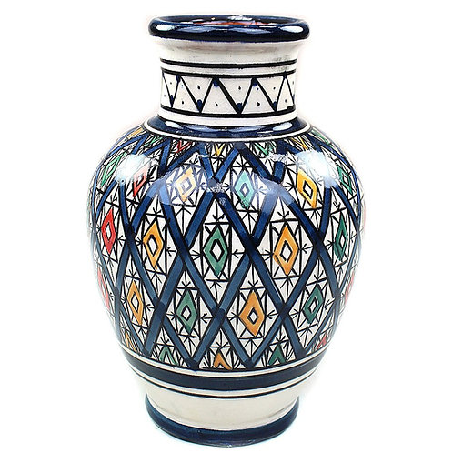 Vase Marokko, Blau