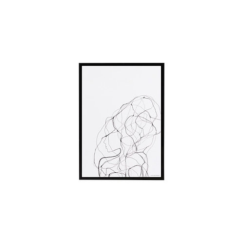 Illustration im Rahmen, Pen 1
