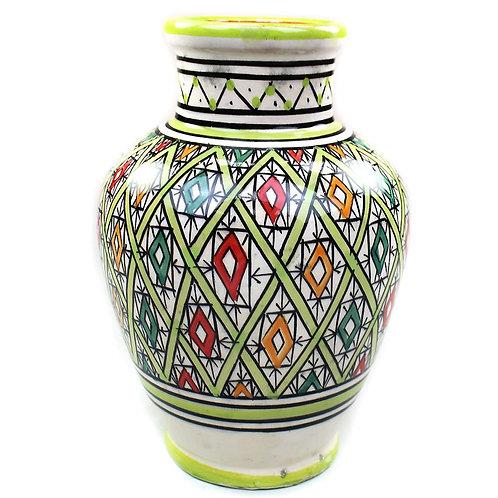 Vase Marokko Gross, Grün