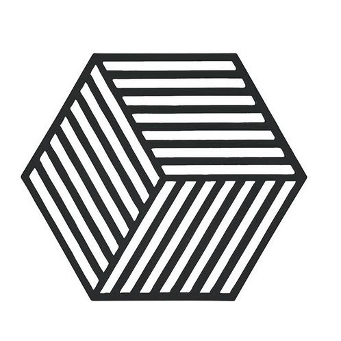 Hexagon, Schwarz