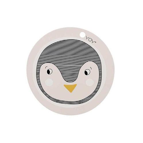 Tischset Pinguin
