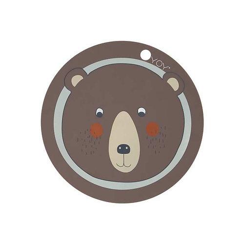 Tischset Bär