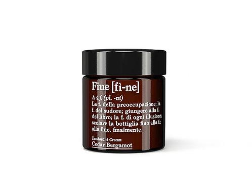 Deodorant Cedar/Bergamot