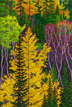 Autumn Hues (oil, 24x36 in)