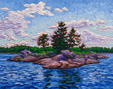 Rocky Isle (oil, 11x14 in, Sold)