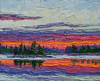 Morning Light II (oil, 8x10 in)