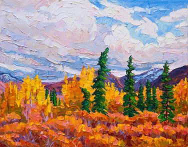 Yukon Gold (oil, 11x14 in)