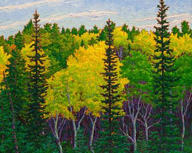 Autumn Hues (oil, 24x30 in)