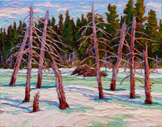 Spring Thaw (oil, 11x14 in)