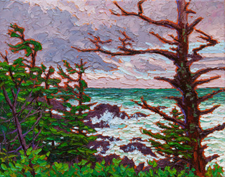 Wind-sculpted Shores (oil, 11x14 in)