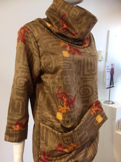 Esme Pullover ~ Shades of browns, red and gold