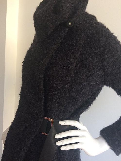 Black Fur Esme Fitted Jacket