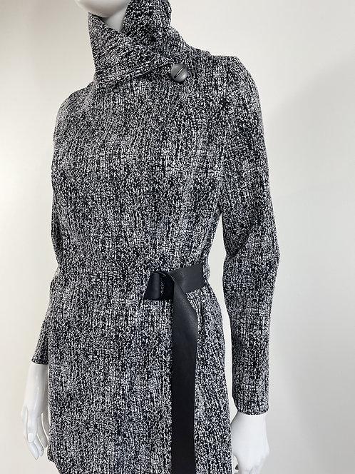 Black White Tweed-like Look